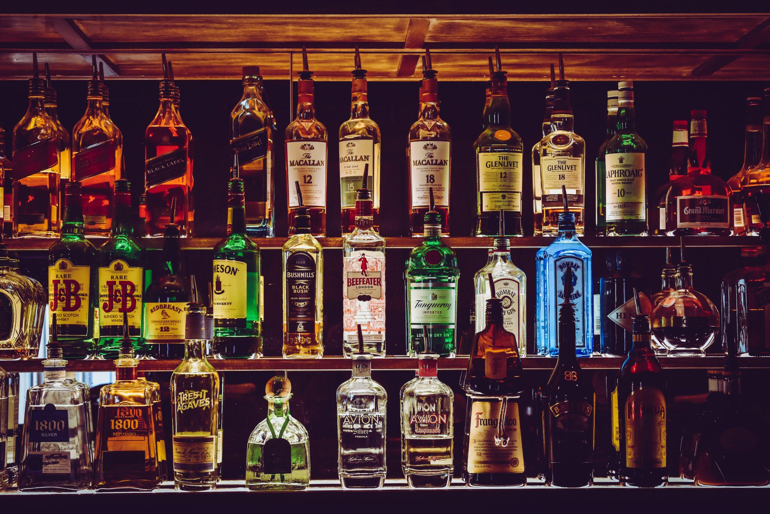mur de boissons